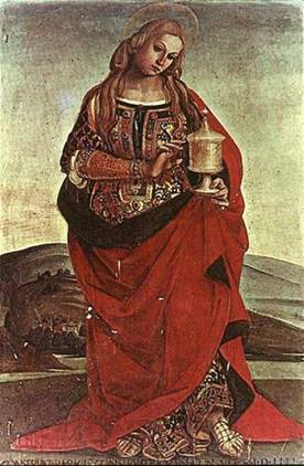 Catari, Maddalena sposa incinta di Gesu, la stirpe Sang Real Image012