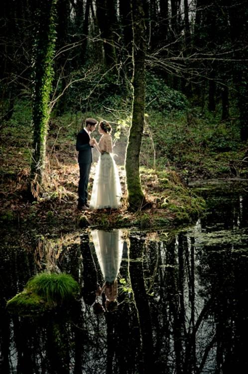 Matrimonio Celtico Toscana : Sposi acqua g